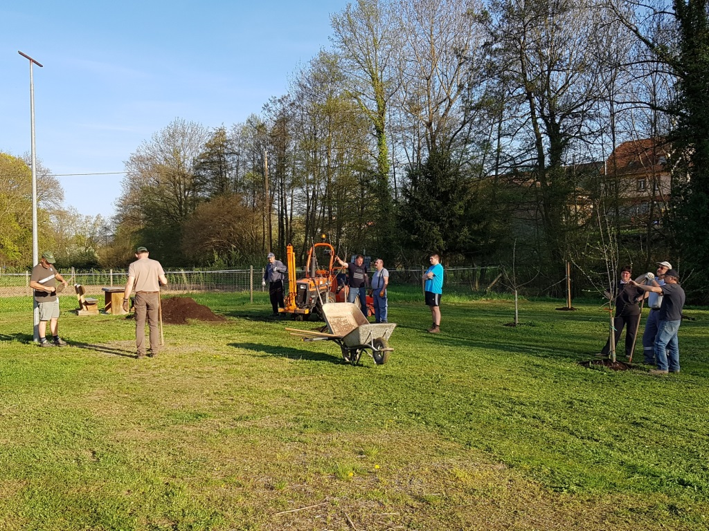 2018 04 18 Travaux Verger Ecole Romanswiller11