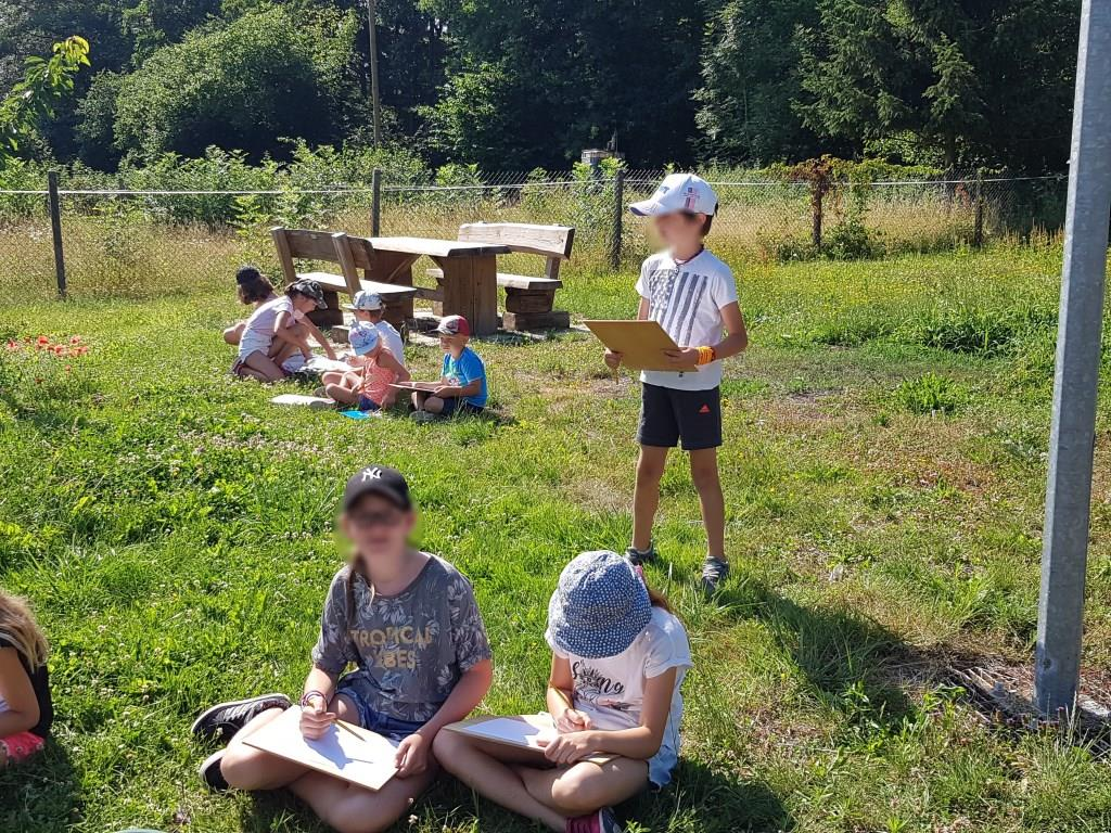 2018 07 02 Visite Ecole Cosswiller Verger Romanswiller10