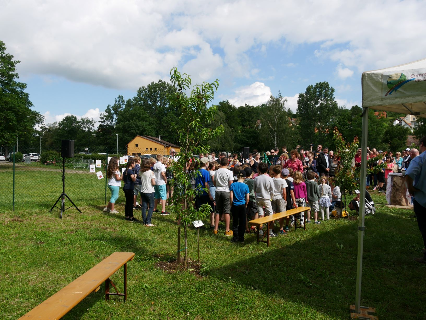 2019 06 16 Inauguration Verger Ecole Romanswiller21