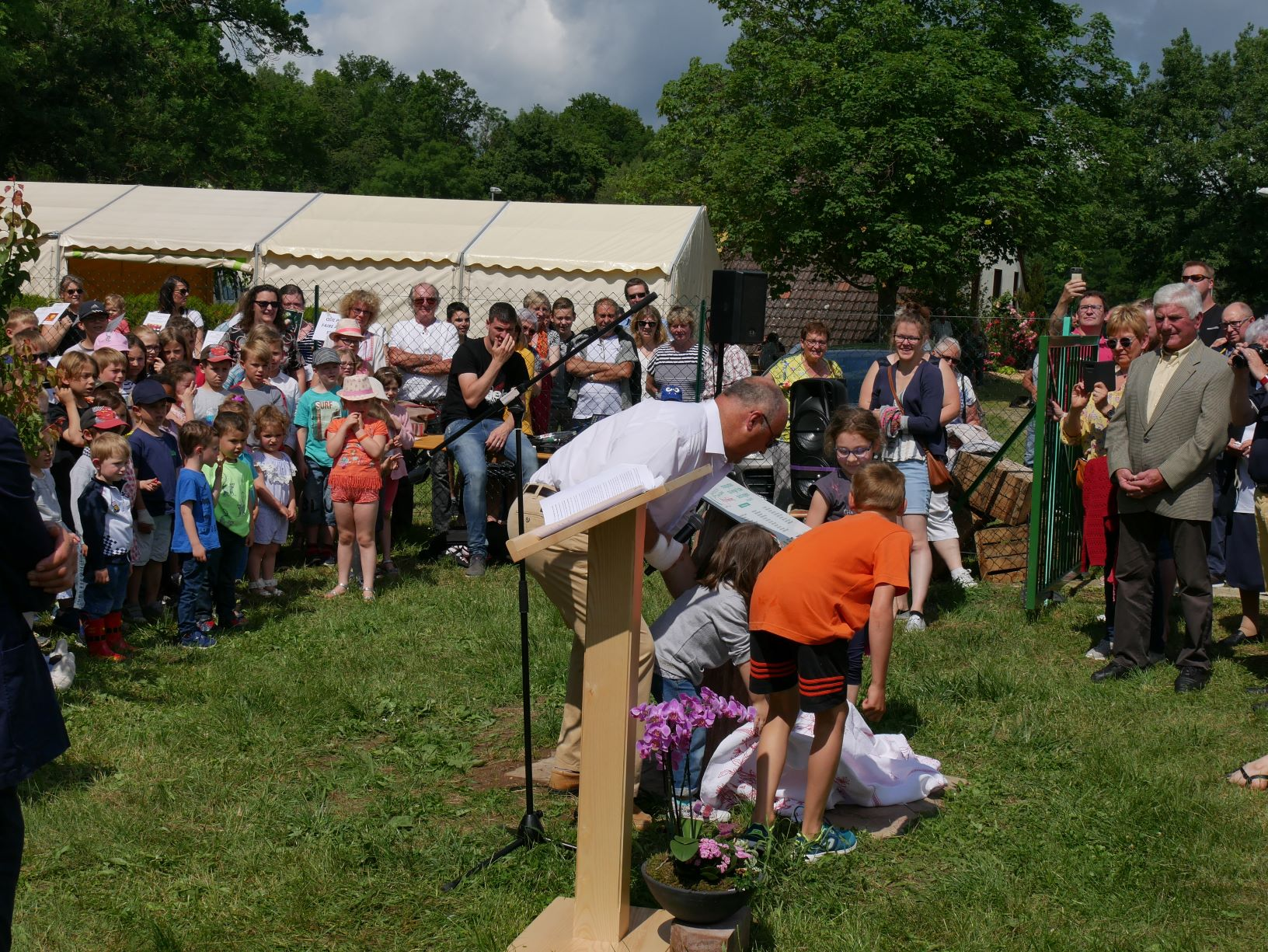 2019 06 16 Inauguration Verger Ecole Romanswiller25
